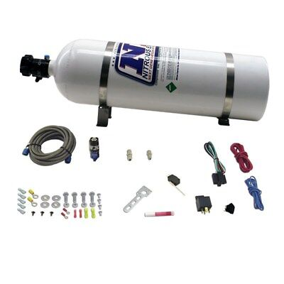 Nitrous Express NXD11110   DIESEL DRY NITROUS SYSTEM INCLUDES 15LB BOTTLE ALL M