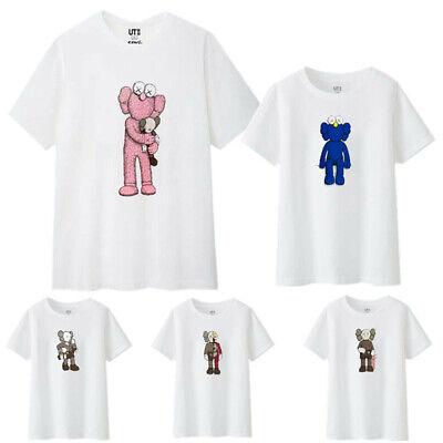 KAWS X UNIQLO UT 2019 Summer Graphic T Shirt M XL XXL COMPANION AUTHENTIC