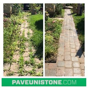 HIGH PRESSURE CLEANING OF DRIVEWAYS & UNISTONE & CONCRETE West Island Greater Montréal image 2