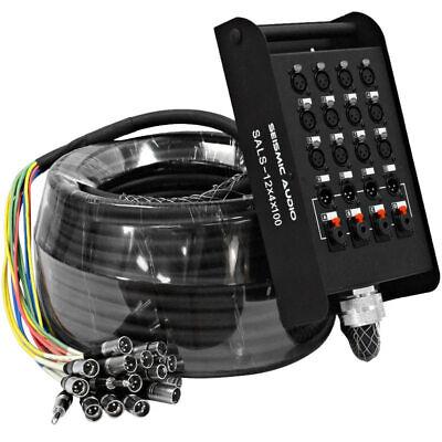 Audio Snake 4 Returns - XLR Audio Snake Cable TRS 1/4