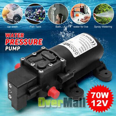 New Rv Marine 12v Dc 6.0lmin 130psi Fresh Water Diaphragm Self Priming Pump