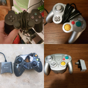 Controllers for Nintendo, Sony and Xbox