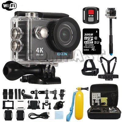 Action Camera Ultra HD 4K WiFi 1080P/60fps 2.0'' LCD Helmet Waterproof  EKEN H9R