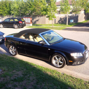 2008 Audi A4 2.0T Convertible. NEEDS ENGINE WORK
