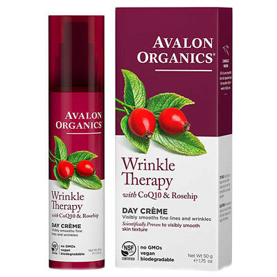 Avalon Organics CoQ10 Repair Wrinkle Defense Crème 50g