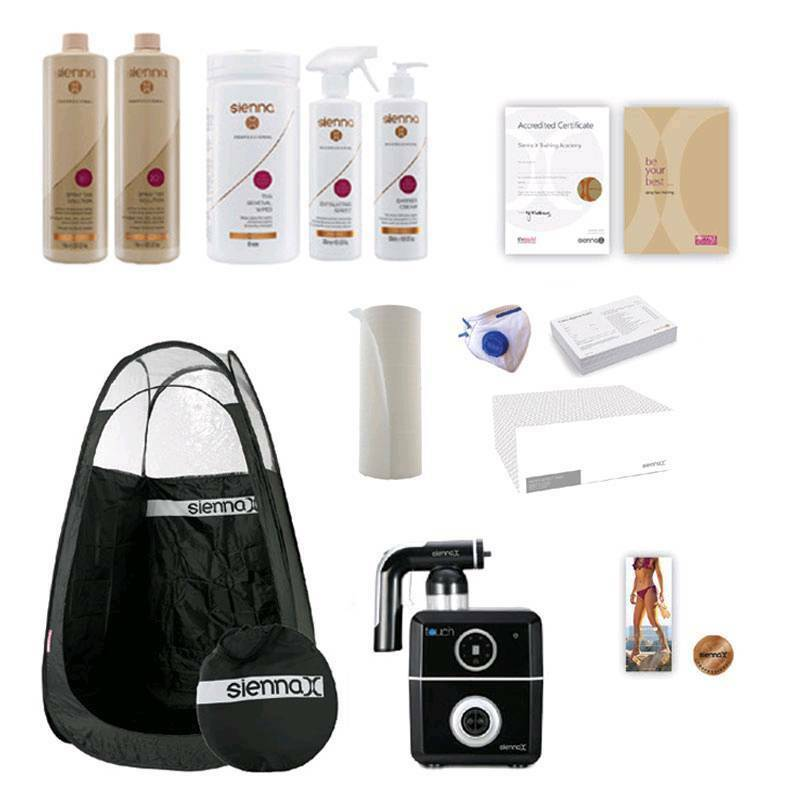 Professional sienna x tanning kit