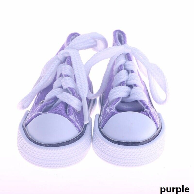 """Doll Clothes fits Girl Doll Hot 18/"""" Canvas Sneakers Gym Shoes Accessory New"""