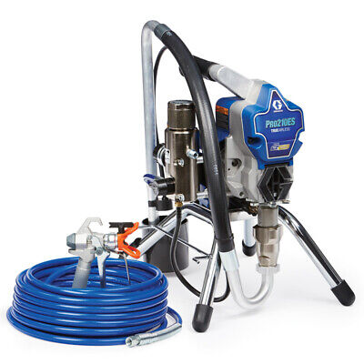 Graco Pro210es Stand Electric Airless Paint Sprayer 17d163 Includes New Hose