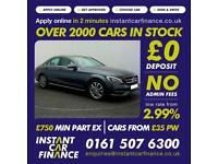 Mercedes-Benz C250 2.1CDI BlueTec 7G-Tronic Plus 2015MY CDI Sport FROM £79 PW
