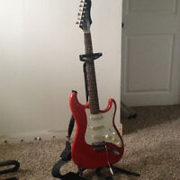 vantage guitar with stand