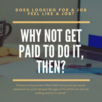 UNEMPLOYED? WANT PAID TO JOB SEARCH & GAIN EMPLOYMENT?