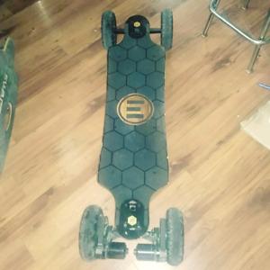 Longboard (skateboard )électrique Evolve bamboo gtx