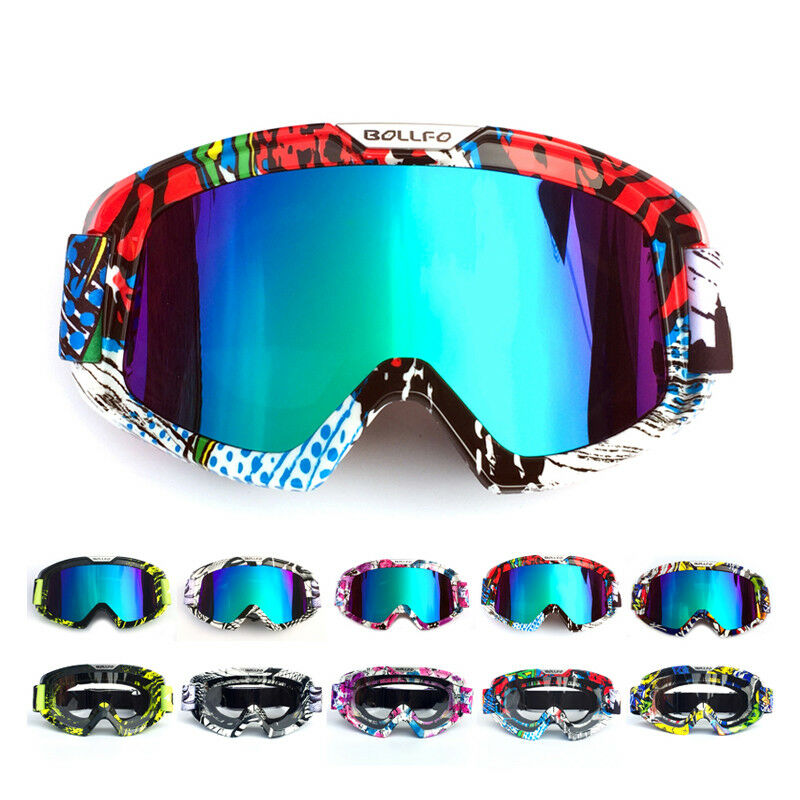 Motorcycle Motocross Race Goggles Offroad MX ATV UTV Enduro Quad Eyewear Glasses