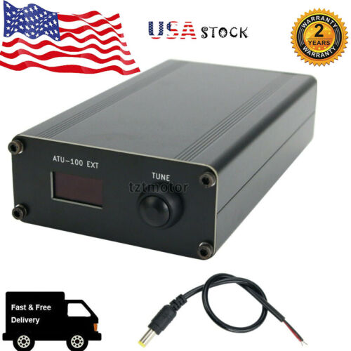 NEW ATU-100 EXT 1.8-50M 100W Open Source Shortwave Automatic Antenna Tuner US