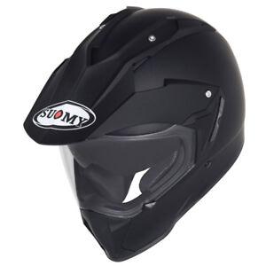 SUOMY Casco SY MX Tourer Matte Black Helmet 60% OFF!