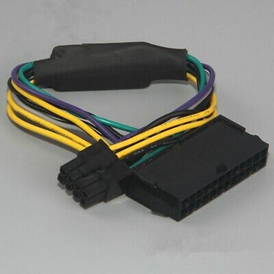 Atx Power Supply Fuse (24 pin To 8pin ATX Power Supply Cable For DELL Optiplex 3020 7020 9020 T1700 US )