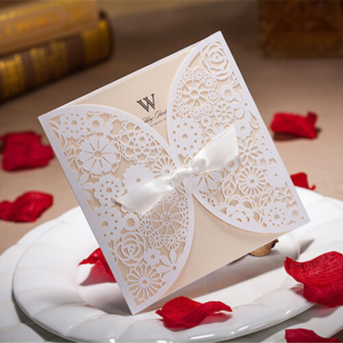 50 Personalized Custom Printing Wedding Invitation Cards ...