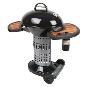 Coleman Charcoal propane assist charcoal BBQ