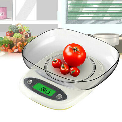 22lb/10kg Digital Electronic Kitchen Scale Meat Diet Food Po