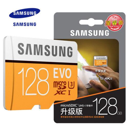 Samsung EVO 32GB 64GB 128GB Micro SD SDHC SDXC Class 10 UHS-I TF Memory Card HD
