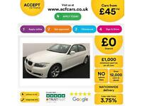 BMW 320 2.0TD 2010.5MY d EfficientDynamics FROM £45 PER WEEK!
