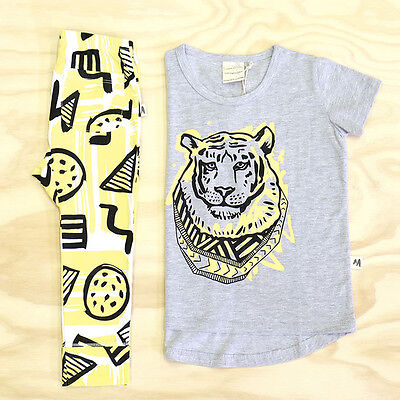 (New Toddler Baby Girls Boys Short Sleeve Tops T-shirt Pants Bib 3pcs Outfits Set)