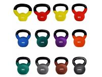 Neoprene Covered Cast Iron Kettlebells 2kg - 24kg | Daddy Supplememts