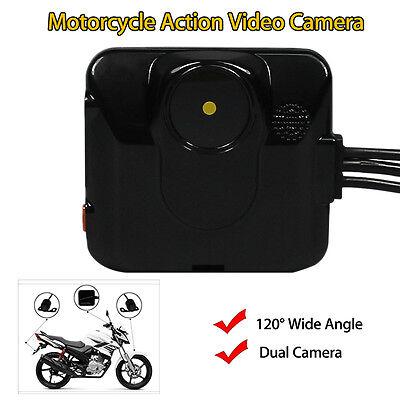 C6L Motorcycle GPS Action Dual Mini Camera Video Cam DVR HD 720P Lens Recording