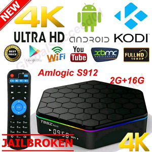 T95Z + Android Kodi TV Box Movies TV Shows Channels