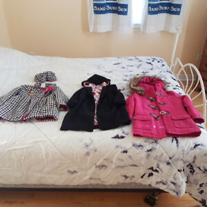 Girls Coats / Jackets 4T/5T $10 For ALL