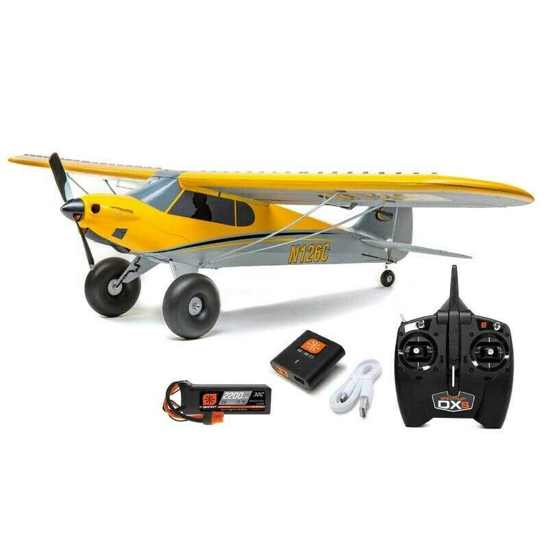 NEW HobbyZone Carbon Cub S2 1.3m RTF Ready-to-Fly RC Trainer Airplane w/SAFE