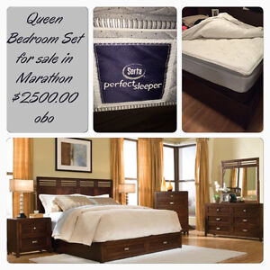 Queen Bedroom Set for sale
