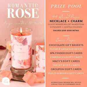 Win a romantic rose wax melt