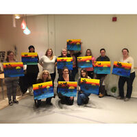 Book your own PRIVATE PAINT NIGHT