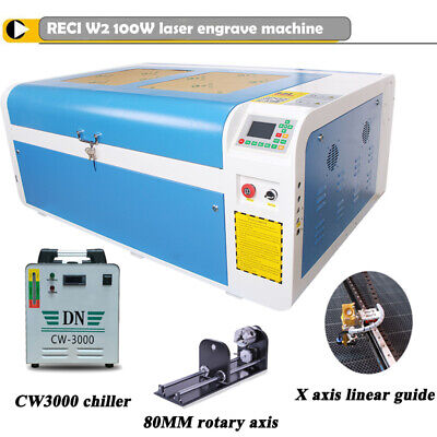 Reci 100w Co2 Laser Engraving Cutting Machine 23 X 39 1000 X 600 Mm