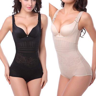 Underbust Breast Body Underwear Corset Shaper Girdle Waist Cincher Bodysuit Slim