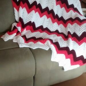 Various Afghans,Baby blankets ,Scarfs and Throws