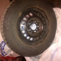 Michellin X-ice 205/70R 15 Rims and Tires