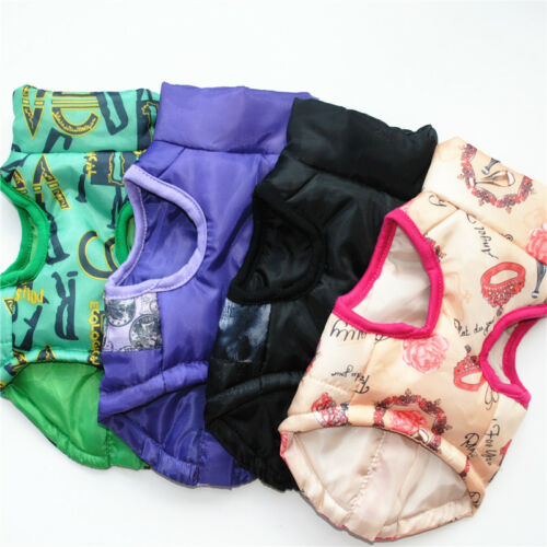 Купить Unbranded - Dog Cat Coat Jacket Pet Supplies Clothes Winter Apparel Clothing Puppy Costume