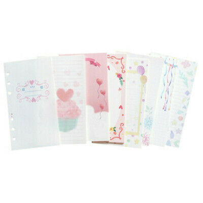 101 Sheets A5a6a7 Colourful Planner Diary Insert Refill Schedule Organiser