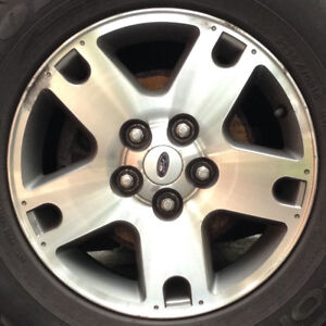 Ford Escape Alloy Rims with Michelin X-Ice Snow Tires (4)