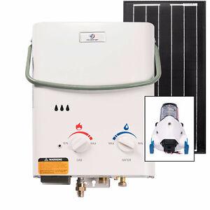 Eccotemp L5 Tankless Water Heater (w/ 12V pump & 30W Solar Kit)