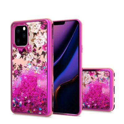 For Apple iPhone 11 Pro Max Hot Pink Flower Hard Hybrid Case Cover Hot Pink Hard Case Cover