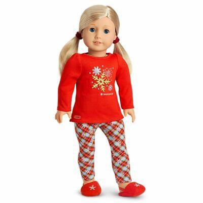 American Girl Holiday Dreams Pajamas - NIB   - Girl Holiday Pajamas