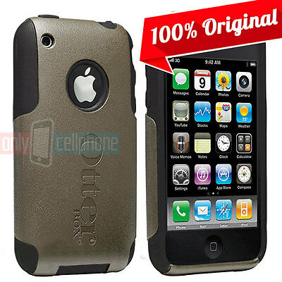 NEW Otterbox Commuter At all events Dual Layer Grey Hard Cover/Skin for iPhone 3GS/3G