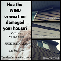 Need to secure your siding? We can help!