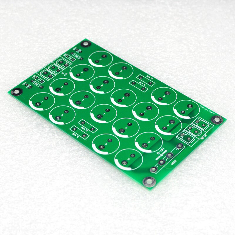 CRC Capacitor Filter Power Bare PCB Support 18pcs D18mm Electrolytic Capacitors