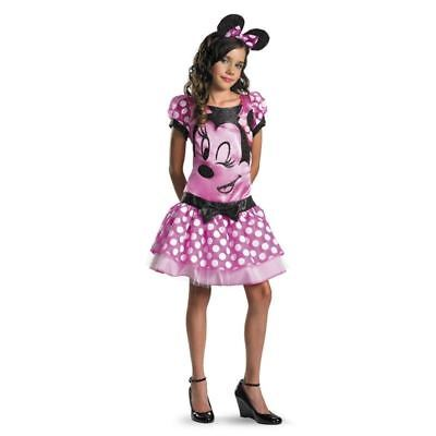 SE MINNIE FANCY DRESS UP HALLOWEEN COSTUME M 7-8 L 10-12 NEW (Halloween-kostüme Mickey Minnie Mouse)