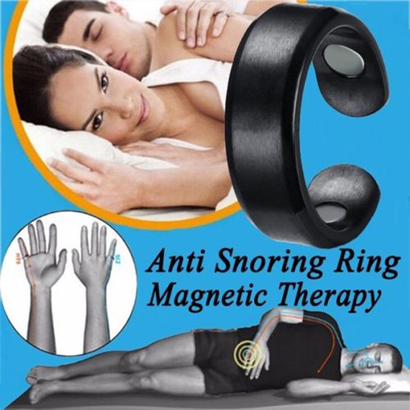 Anti Snore Ring Acupressure Magnetic Therapy Snore Stopper S