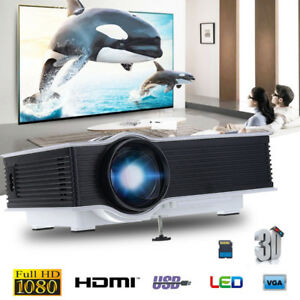 Projector G40+ HD 1080 HDMI LCD VGA Projecteur